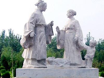 人物石雕m6米乐投注网站